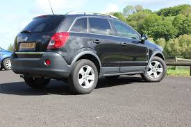 used black vauxhall antara for sale rac cars