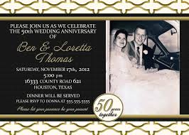 50th wedding anniversary invitations online bachelorette thank you
