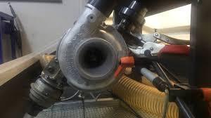 mitsubishi canter turbocharger flow test youtube