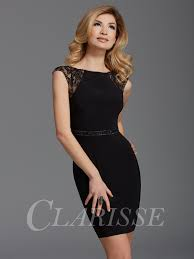 cocktail dress clarisse black cocktail dress 2902 promgirl net