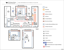 Pharmacy Floor Plans by Life Science Library Map University Of Texas Libraries