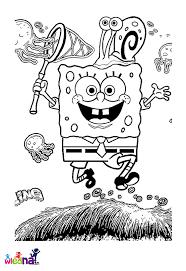 jeux de bob l 駱onge en cuisine nos jeux de coloriage bob l éponge à imprimer gratuit page 5 of 7