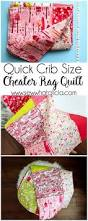 quick cheater baby rag quilt tutorial sew what alicia
