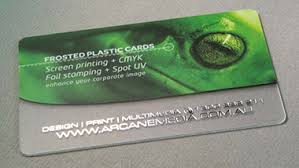 Translucent Plastic Business Cards Quality Pvc Plastic Business Cards Printing Printers Credit