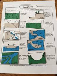 Landforms Worksheets Mom Of Many Super Teacher Worksheets A Tos Crew Review