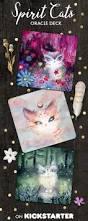 spirit cats inspirational card deck by nicole piar u2014 kickstarter