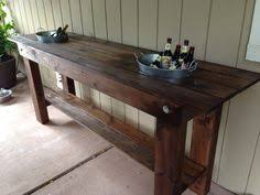 Patio Serving Table Outdoor Buffet Table Outdoor Living Space Pinterest Outdoor