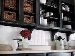 Kitchen Cabinets Black And White Repainting Kitchen Cabinets Pictures U0026 Ideas From Hgtv Hgtv