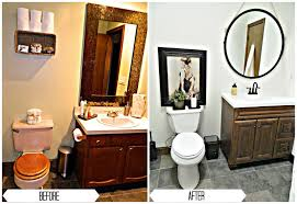Bathroom Remodeling Ideas Before And After by Bathroom Renovation Under 1 000 Finding Silver Linings