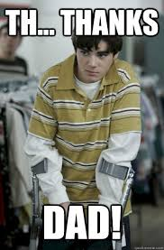Bad Father Meme - th thanks dad walter jr breaking bad quickmeme
