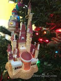 12 days of disney christmas day 8 castle ornaments u2014 disneydaze