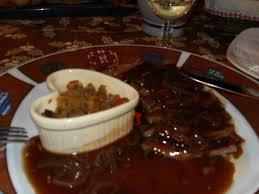 cerf cuisine magret de canard picture of hotel restaurant au cerf riquewihr