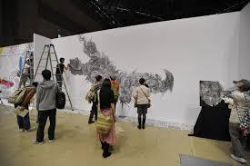 wall painters design festa wall sized paintings tokyobling u0027s blog