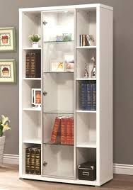 Office Bookcases With Doors White Bookcases With Doors Large Size Of White Office Shelves
