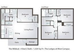 4 bedroom townhome floor plans u0026 pricing u2013 the ledges at west