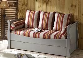 canapé avec lit tiroir acheter votre banquette lit gigogne couchage en 80x190 chez simeuble