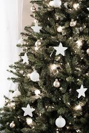 White Christmas Star Decorations by Diy Clay Star Ornaments Homey Oh My
