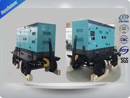 50kw 63kva cummins mobile trailer diesel generator set with