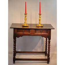 Oak Side Table 17th Century Oak Side Dressing Table
