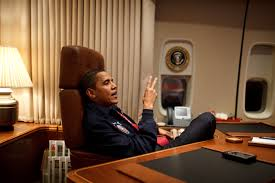 Air Force One Interior File Barack Obama In His Air Force One Office For His First Flight