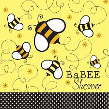 amazon com creative converting baby shower buzz babee 18 count 2