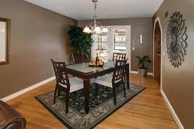 Dining Room Rug Dining Room Adorable Rug Size For Kitchen Table Rug Size For