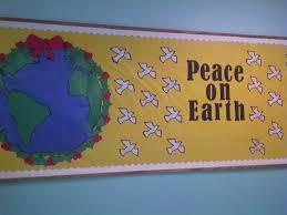 peace on earth bulletin board idea mr gómez pinterest