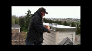 installing a stainless steel chimney chase cover video youtube