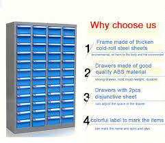 Cabinet Drawer Parts Plastic Drawer Parts Cabinet 75 Drawers Electronic Component