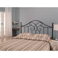 coaster full queen butterfly metal headboard black walmart com