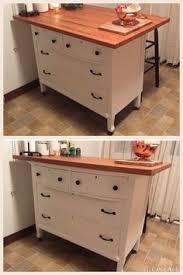 Repurposed Dresser Kitchen Island - need kitchen storage make a kitchen island from a dresser