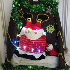 shop ugly tacky christmas sweaters on wanelo