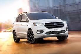 kuga shapes up new ford kuga st line unveiled by car magazine