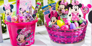 build your own minnie mouse easter basket party city