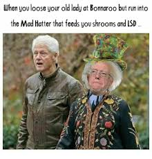 Bonnaroo Meme - when you loose your old lady at bonnaroo but run into the mad hatter