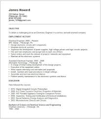 electronic test engineer sample resume 12 download testing resume