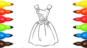 dress coloring pages peppa pig coloring book with colored markers