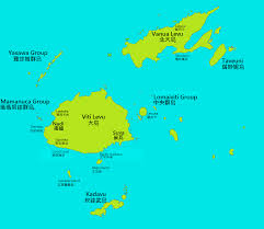 Map Of Fiji 斐濟簡圖concise Map Of Fiji 斐濟駐華貿易暨觀光代表處fiji Trade