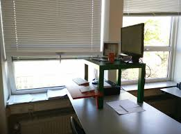 Diy Stand Up Desk Ikea by Do It Yourself Ikea Hack Standing Desk Decorative Furniture