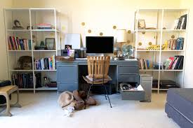 Home Office Bookshelves by New Office Bookshelves On A Budget U2014 Tag U0026 Tibby