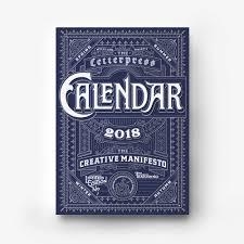 letter press letterpress calendar