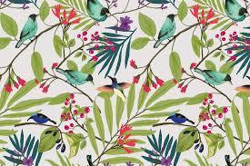 illustrated birds and berries wall mural muralswallpaper co uk