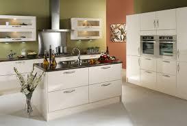 Gloss Kitchen Designs Kitchen Ideas Cream Gloss In Throughout Inspiration In Kitchen