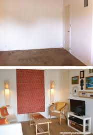 who says rugs are just for floors how to add color to a large