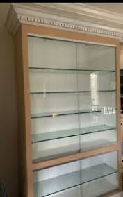 white kitchen wall display cabinets white display cabinets for sale in stock ebay