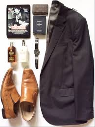 fashion flatlay man style featuring country road suit jacket