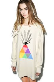 couture all seeing eye roadtrip sweater dress dolls kill