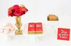 valentine inspired s u0027mores bar free printables sweet paper