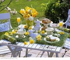 Beautiful Table Settings Bunny Napkins And A Beautiful Table Setting Design Dazzle