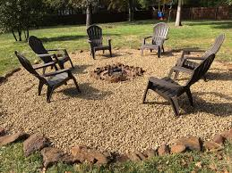fire pit with rock surround garden ideas and plants pinterest